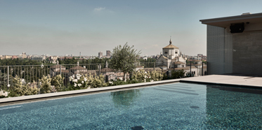 Outdoor Pool at Hotel VIU Milan, Italy