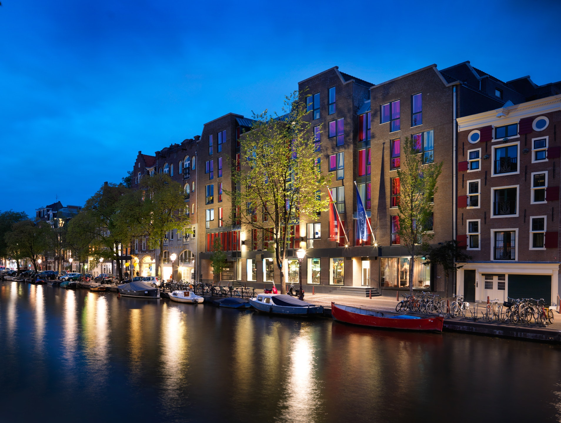 Exterior View of the Andaz Amsterdam Prinsengracht