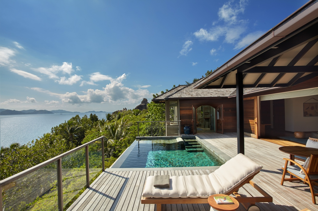 Panorama Pool Villa at Six Senses Zil Pasyon
