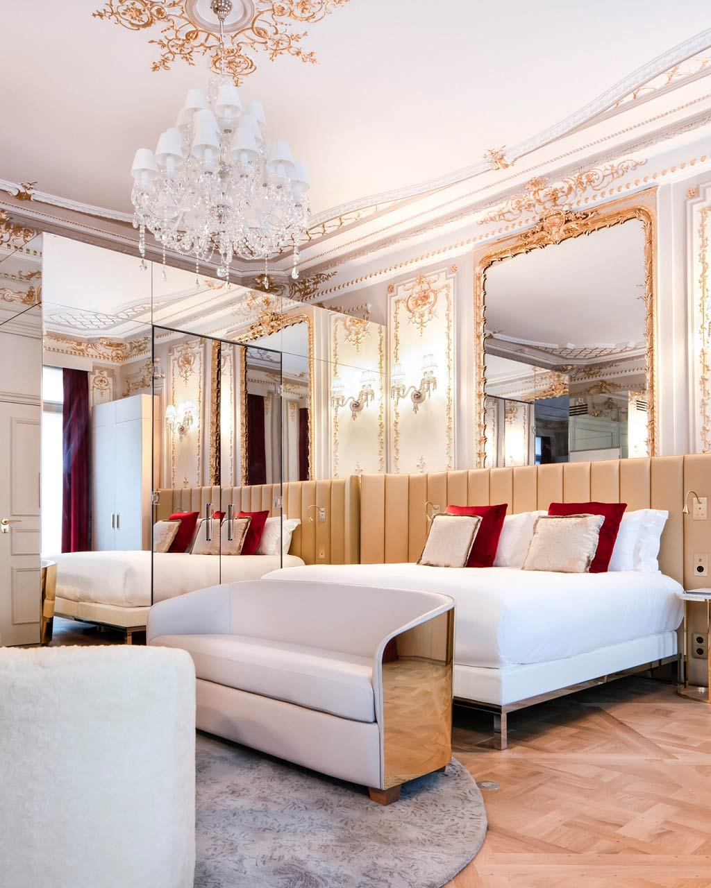 Suite at Hotel Bowmann, Paris, France