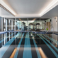 Indoor Pool and Fitness Center at Ovolo Woolloomooloo, Sydney, NSW, Australia