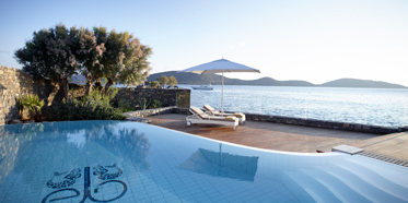 Outdoor Pool at Elounda Beach Hotel and Villas, Crete, Lassithi, Greece