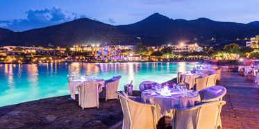 Thalassa Restaurant at Elounda Bay Palace, Greece