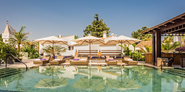 Outdoor Pool at Nobu Hotel Marbella, Spain