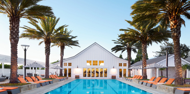 Outdoor Pool at Carneros Resort and Spa, Napa, CA