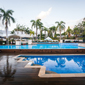 Outdoor Pool at Shangri-La Hotel The Marina Cairns, QLD, Australia