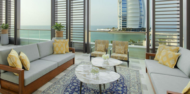 Suite Terrace at Jumeirah Al Naseem, Dubai, UAE