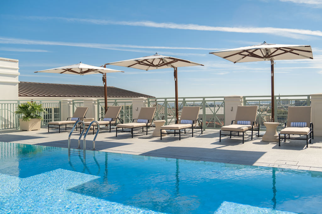Rooftop Pool at Hotel Bennett, Charleston, SC