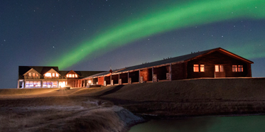 Northern Lights at Hotel Ranga, Hella, Iceland