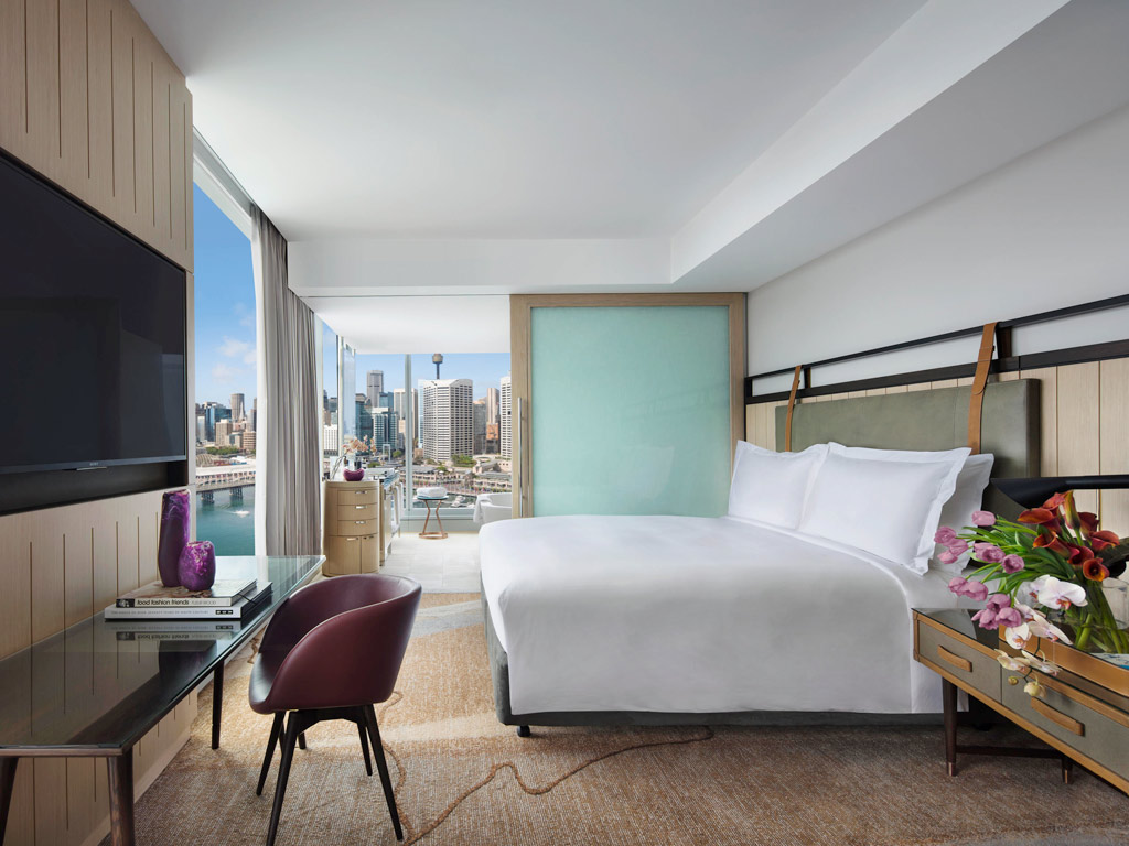 Guest Room at Sofitel Sydney Darling Harbour, Sydney, Australia