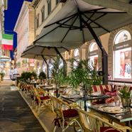 Dine at Hotel Helvetia and Bristol, Firenze, Italy