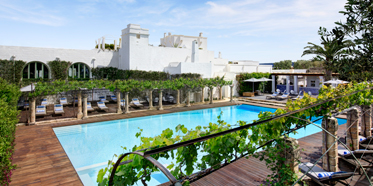 Outdoor Pool at Masseria Torre Maizza, Apulia, Italy