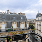 Terrace Views at Room Mate Alain, Paris, France