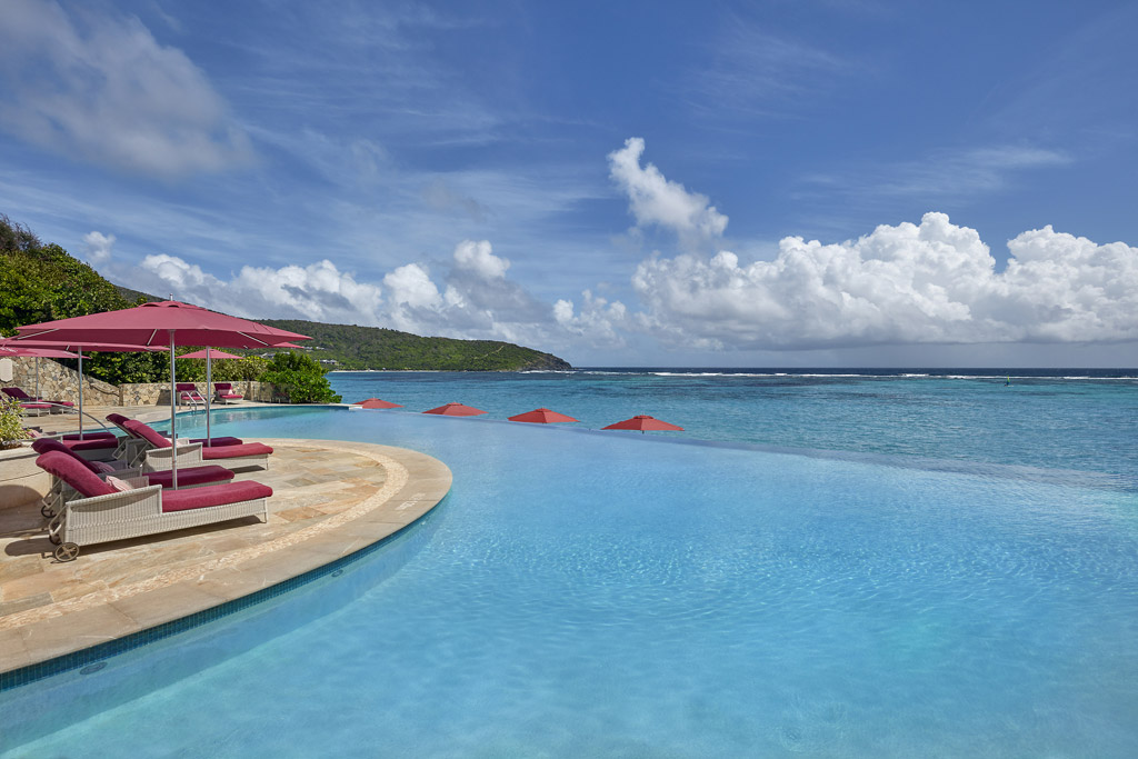 Infinity Pool at Mandarin Oriental Canouan, St. Vincent