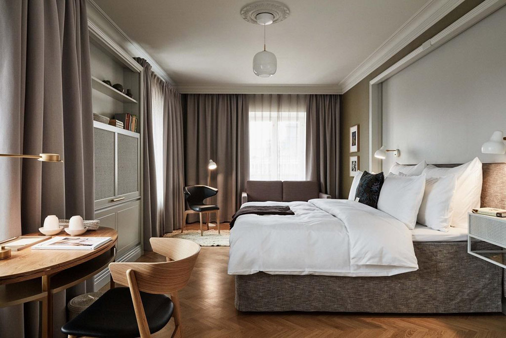 Guest Room at Hotel St. George, Helsinki, Finland