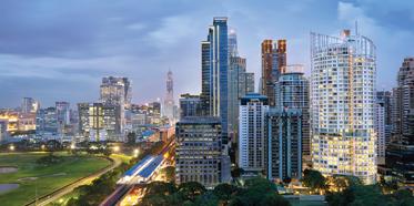 Dusit Suites Hotel Ratchadamri, Bangkok, Thailand