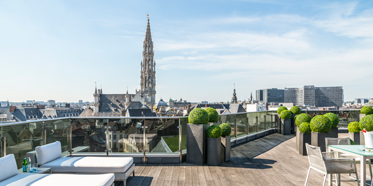 Suite Terrace at Warwick Brussels, BELGIUM