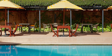 Outdoor Pool at Fairmont The Norfolk Hotel, NAIROBI, KENYA