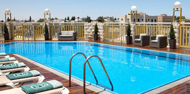 Outdoor Pool at Dan Panorama Jerusalem, Israel