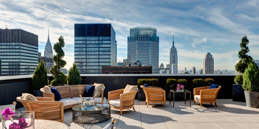 Jewel Suite Terrace at The Towers at Lotte New York Palace, United States