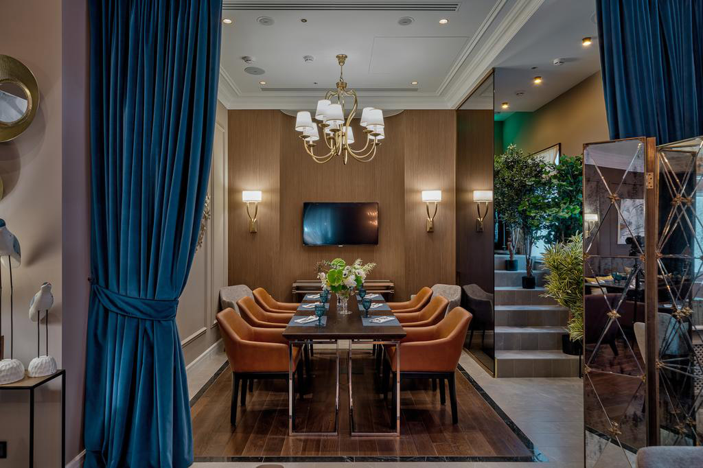 Private Dining at Chekhoff Hotel Moscow, Russia