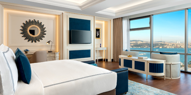 Suite at Ritz Carlton Istanbul, Turkey