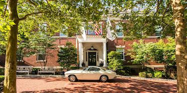 The Vanderbilt Newport Entryway
