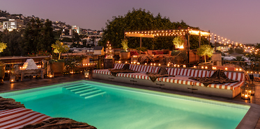 Petit Ermitage Rooftop Pool