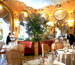 Dining at the Hotel Ritz