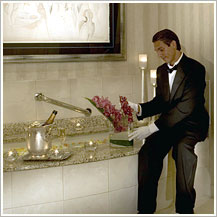 Conrad Chicago bath butler