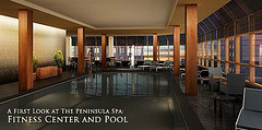 The Peninsula New York pool