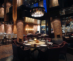 Fire and Ice Restaurant, Raffles Hotel Dubai