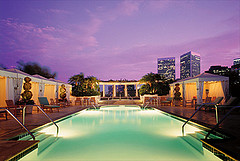The Peninsula Beverly Hills, Roof Garden and Pool
