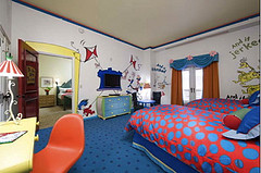 Dr Seuss Suite at Loews Portofino Hotel