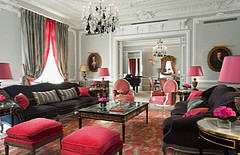 Eiffel Suite at Hotel Plaza Athenee