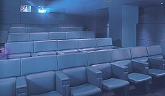 Private screening room at One Aldwych