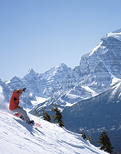 Skiing at The Post Hotel and Spa, Banff