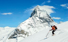 Skiing at Zermatt