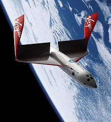 Virgin Galactic, new tourist spaceship