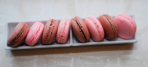 Macarons at Adour Restaurant, St. Regis Washington DC