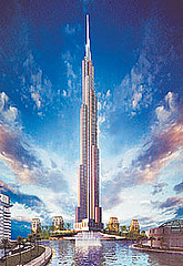 Burj Dubai, world's tallest building