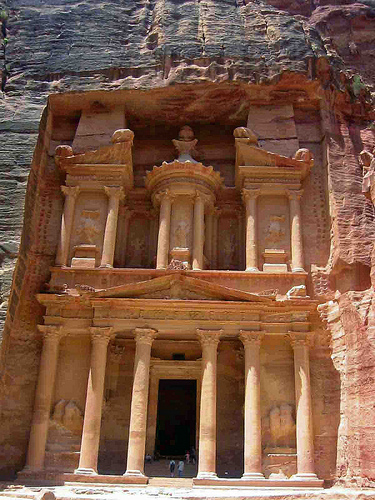 The Lost City of Petra, Jordan