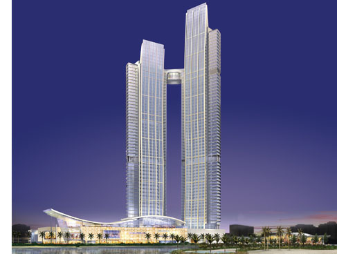 Nation Towers, Abu Dhabi