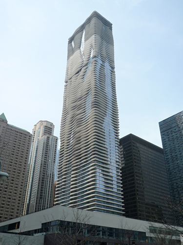 Aqua Tower, Radisson Blu, Chicago