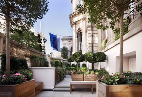 The Langham London, Terrace Garden
