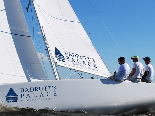 Badrutts Palace sailing