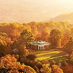 Monticello in the Fall