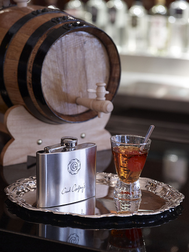Astor Hip Flask at Good Godfrey's, The Waldorf Hilton
