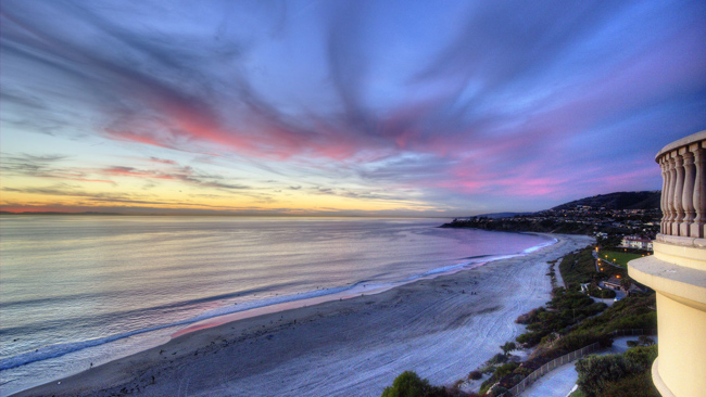 Sunset at Ritz-Carlton, Laguna Niguel