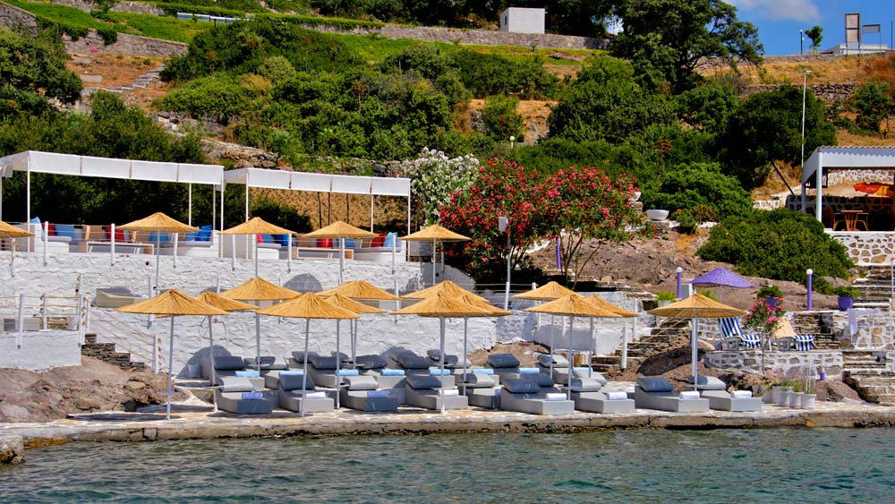 Bitez Bay Beach at Doria Hotel Bodrum